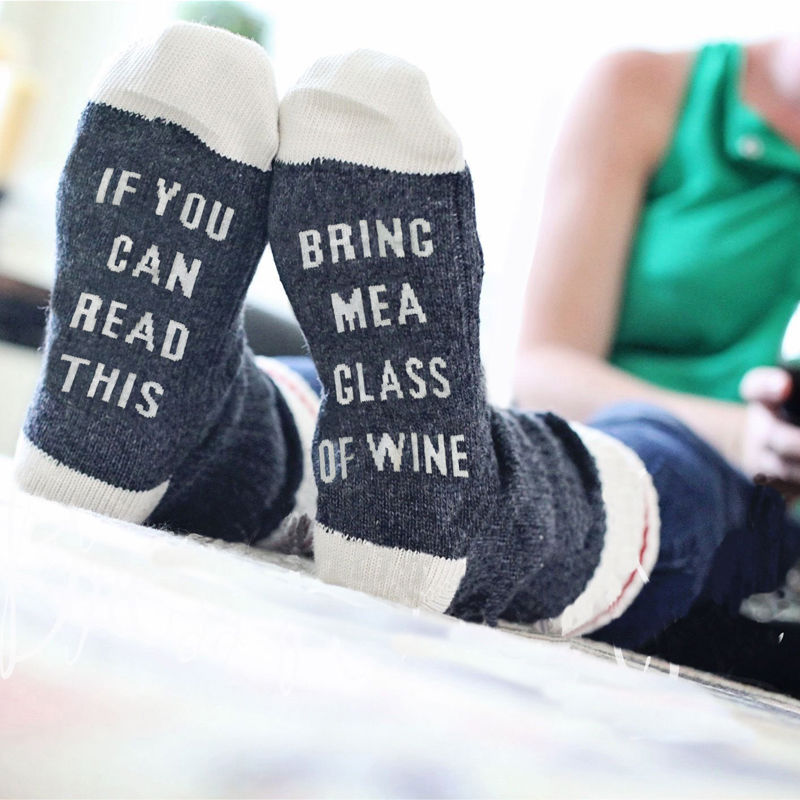 Wine sock (Valentine's Day Gift for wife)