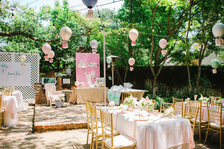 Whimsical Dreamy Theme for Baby Shower