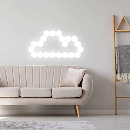 Magnetic Modular Touch LED Lamps as living room decoration